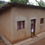 Houses of the orphan families repaired